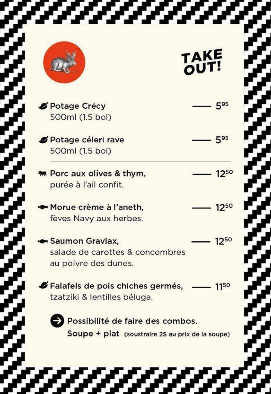 Les restaurants qui offrent des options pour emporter et la livraison à Québec