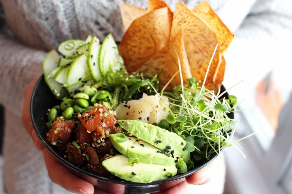 The Poke Bowls! The current trend