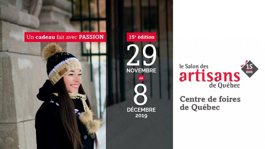 Salon des Artisans de Québec 2019 - événement