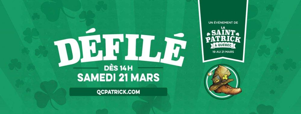 11e Défilé de la Saint-Patrick de Québec - événement