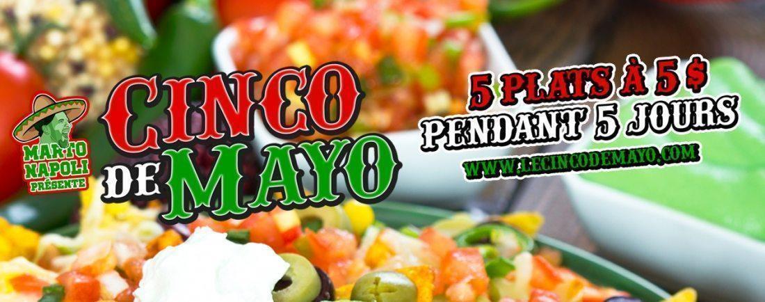 C'est la Fiesta avec le Cinco de Mayo Québec 2019 - événement