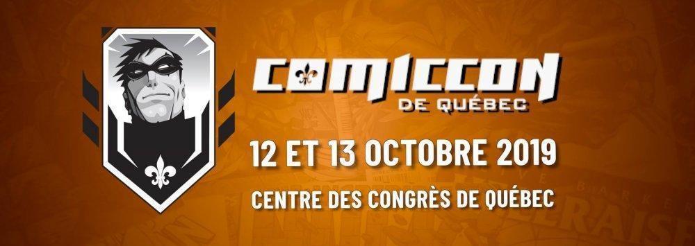 Comiccon de Québec 2019 - événement