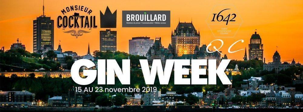 Gin Week Québec - événement