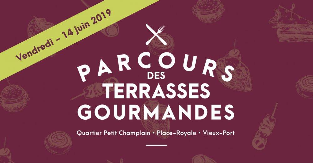 Parcours des Terrasses Gourmandes - 6e Édition - événement
