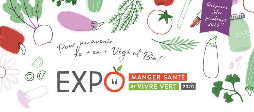 EXPO Manger Santé et Vivre Vert Québec 2020 - événement