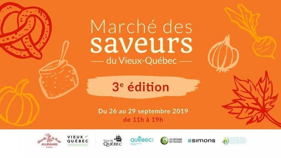 Le Marché des Saveurs du Vieux-Québec - événement